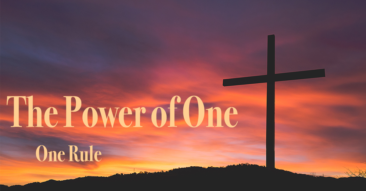The Power of One: One Rule (and One Belief)